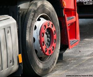 Rompicapo di Ruota di camion
