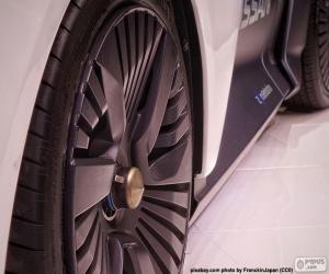 Rompicapo di Ruote Automobile sportiva
