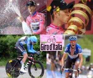 Rompicapo di Ryder Hesjedal, campione del Giro d'Italia 2012