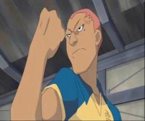 Rompicapo di Ryugo Someoka o Kevin Dragonfly, l'attaccante scontroso della squadra di calcio Raimon