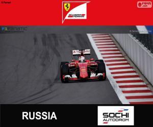 Rompicapo di S. Vettel, G. P di Russia 2015