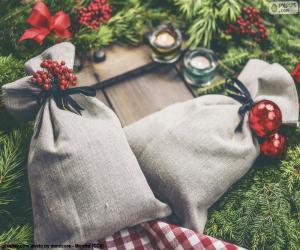 Rompicapo di Sacchetti regalo di Natale
