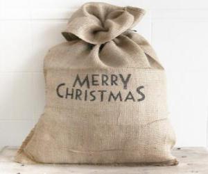 Rompicapo di Sacco con i regali di Natale