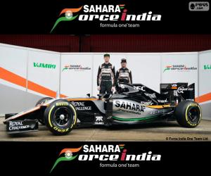 Rompicapo di Sahara Force India F1 2016