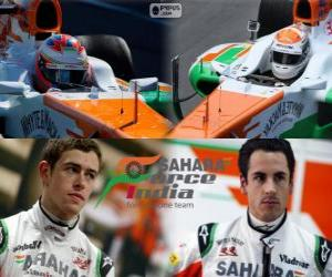 Rompicapo di Sahara Force India F1 Team 2013