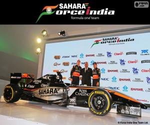 Rompicapo di Sahara Force India F1 team 2015