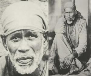 Rompicapo di Sai Baba di Shirdi, guru indiano, yogi e fachiro, che è considerato dai suoi seguaci come un santo