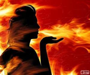Rompicapo di Salamandre, fata del fuoco