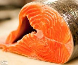 Rompicapo di Salmone fresco