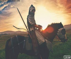 Rompicapo di Samurai a cavallo