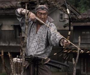 Rompicapo di Samurai scoccare il suo arco