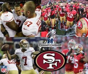 Rompicapo di San Francisco 49ers campione NFC 2012