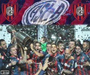 Rompicapo di San Lorenzo de Almagro, campione della Copa Libertadores 2014