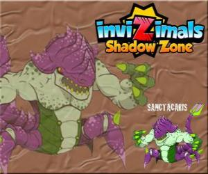 Rompicapo di Sanctacaris. Invizimals Le creature ombra. Il primo dinosauro che ha usato le mani per combattere