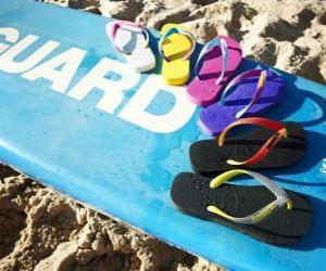 Rompicapo di Sandali infradito per godersi l'estate