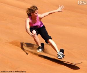 Rompicapo di Sandboarding