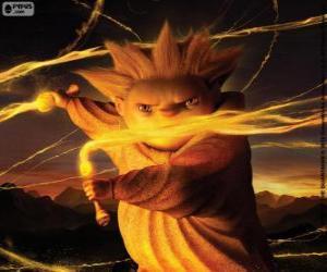 Rompicapo di Sandman, il guardiano dei sogni. Il film DreamWorks, Le 5 leggende