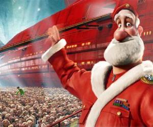 Rompicapo di Santa Claus o Babbo Natale, il padre di Arthur Christmas