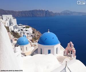 Rompicapo di Santorini, in Grecia