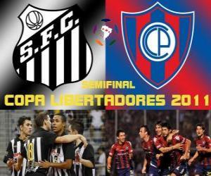 Rompicapo di Santos FC - Cerro Porteño. Copa Libertadores 2011 Semifinale