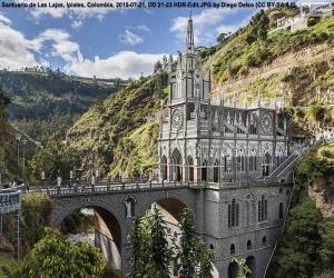 Rompicapo di Santuario di Las Lajas, Colombia