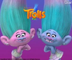 Rompicapo di Satin e Chenille, i gemelli