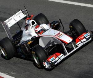 Rompicapo di Sauber C30 - 2011 -