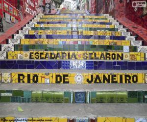 Rompicapo di Scala Selaràn, Brasile