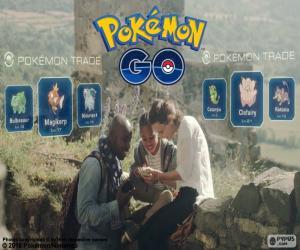 Rompicapo di Scambio Pokémon GO