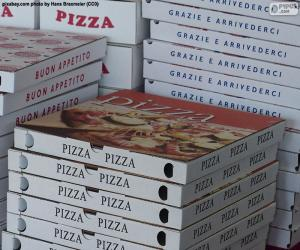 Rompicapo di Scatole per pizze a casa