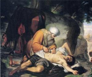 Rompicapo di Scene dalla parabola del Buon Samaritano