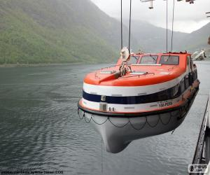 Rompicapo di Scialuppa di salvataggio rigida