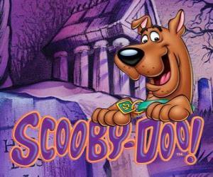 Rompicapo di Scooby Doo con il logo