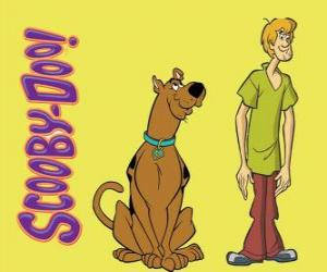 Rompicapo di Scooby-Doo e Shaggy, due amici