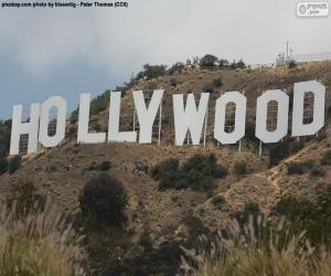 Rompicapo di Scritta Hollywood