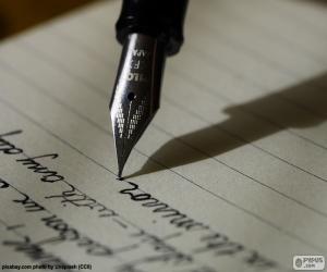 Rompicapo di Scrivere con penna stilografica
