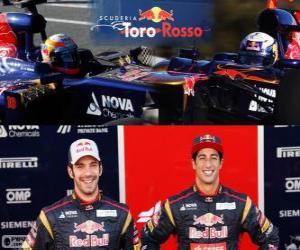 Rompicapo di Scuderia Toro Rosso 2013
