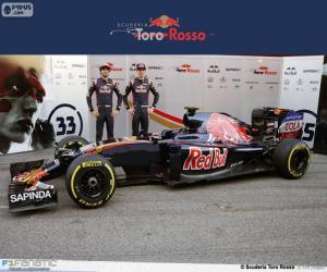 Rompicapo di Scuderia Toro Rosso 2016