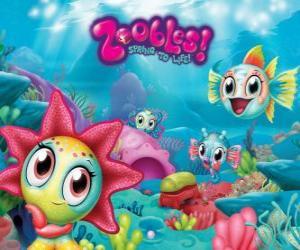 Rompicapo di Seagonia, il mare del Zoobles