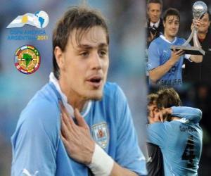 Rompicapo di Sebastian Coates miglior rivelazione Copa America 2011