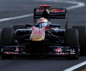 Rompicapo di Sebastien Buemi - Toro Rosso - Hungaroring 2010