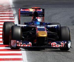 Rompicapo di Sebastien Buemi - Toro Rosso - Barcellona 2011