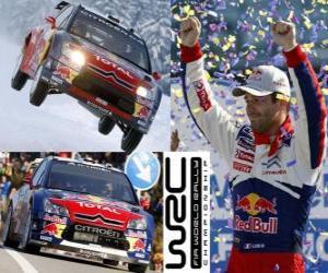 Rompicapo di Sebastien Loeb (Citroen), Campione del Mondo Rally 2010