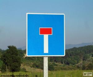 Rompicapo di Segnale di strada senza uscita