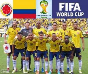 Rompicapo di Selezione della Colombia, Gruppo C, Brasile 2014