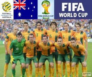 Rompicapo di Selezione di Australia, Gruppo B, Brasile 2014