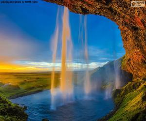 Rompicapo di Seljalandsfoss, Islanda