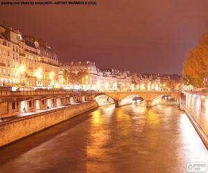 Rompicapo di Senna alla notte, Parigi