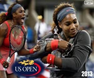 Rompicapo di Serena Williams campione US Open 2013