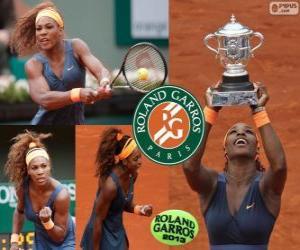 Rompicapo di Serena Williams campionessa Roland Garros 2013